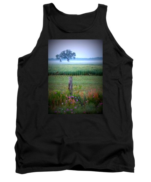 Wildflowers And Fog Tank Top