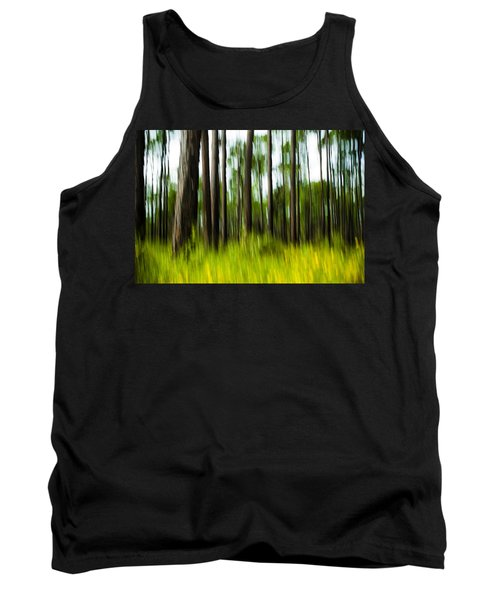 Wildflowers In The Forest Tank Top