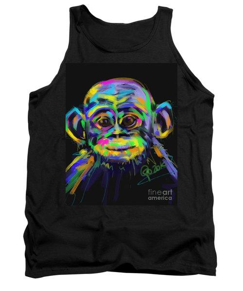 Wildlife Baby Chimp Tank Top
