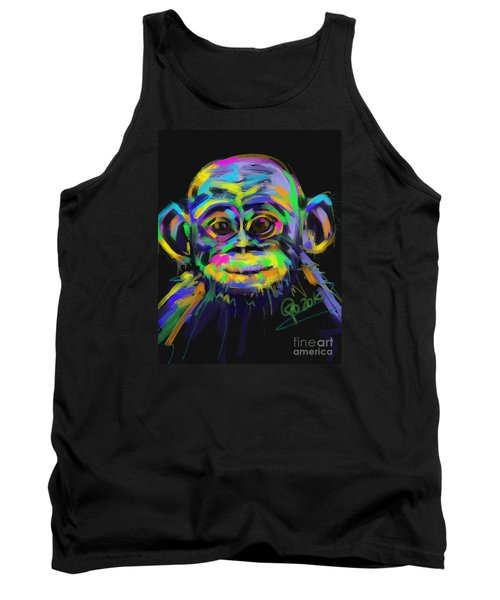 Wildlife Baby Chimp Tank Top