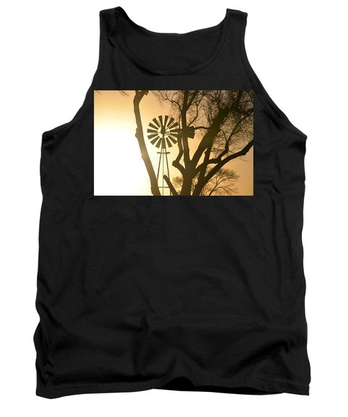 Tank Top featuring the photograph Spinning In The Sundown by Clarice  Lakota