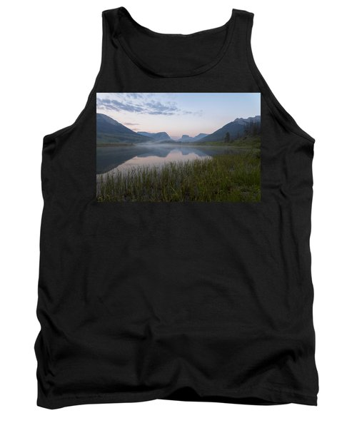 Tank Top featuring the photograph Wind River Morning by Dustin  LeFevre