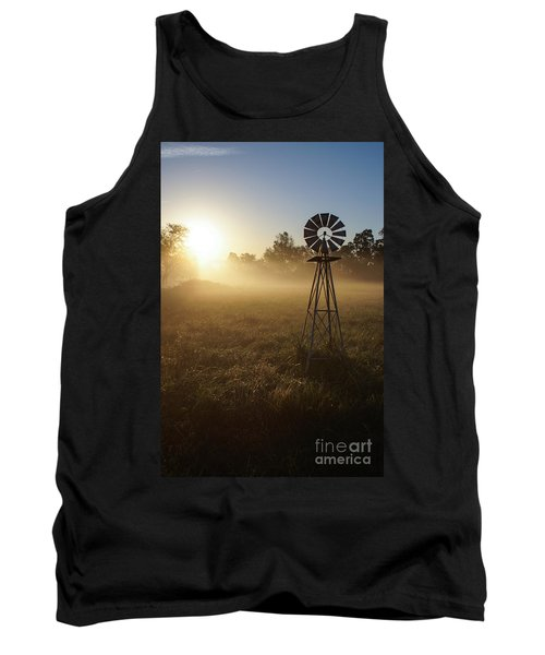 Windmill In The Fog Tank Top