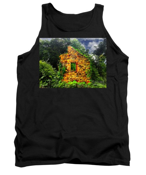 Window To Her Soul Tank Top by Becky Lupe
