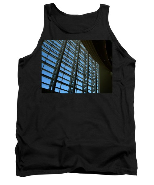 Window Wall At The Adrienne Arsht Center Tank Top by Greg Allore