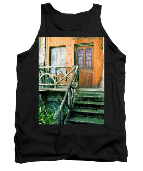 Tank Top featuring the photograph Windows And Doors 25 by Maria Huntley