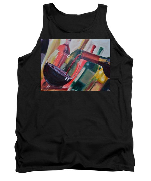 Wine Pour IIi Tank Top