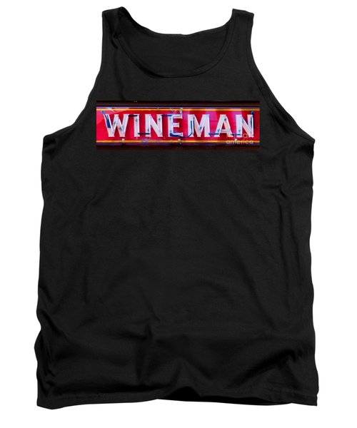 Wineman Neon Sign Tank Top