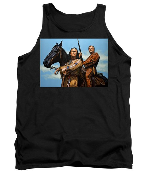 Winnetou And Old Shatterhand Tank Top