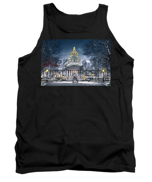 Winter At The Capitol Tank Top