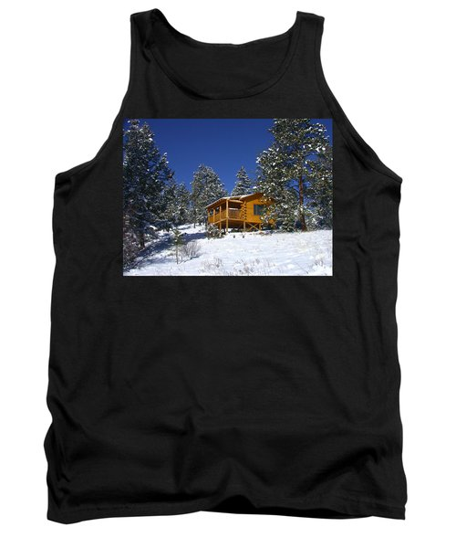 Winter Cabin Tank Top