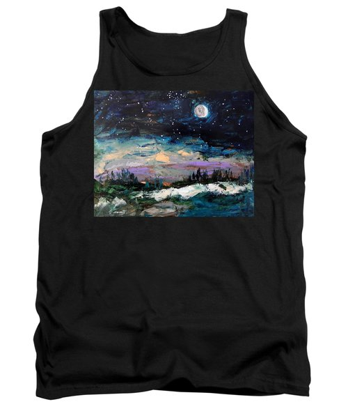 Winter Eclipse Tank Top