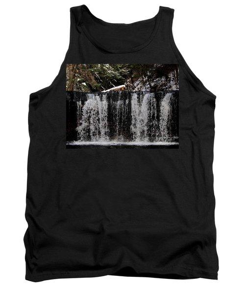 Winter Woodland Waterfall Tank Top