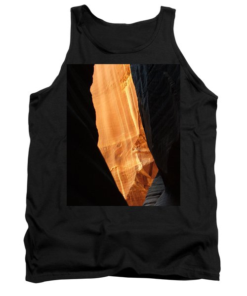Tank Top featuring the photograph Wire Pass - Buckskin Wash 10 by Jeff Brunton