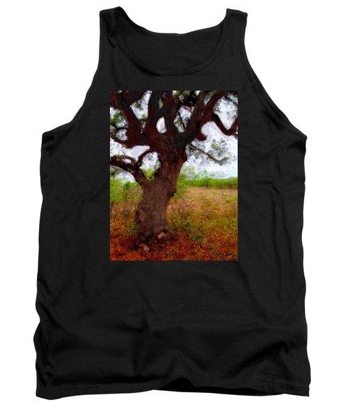 Da214 Wise Old Tree By Daniel Adams Tank Top