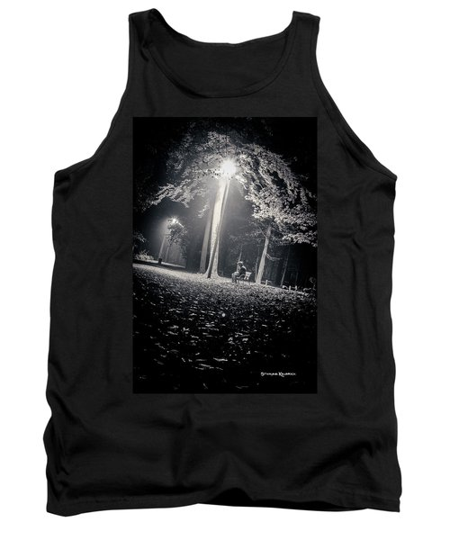 Tank Top featuring the photograph Wish You Were Alone by Stwayne Keubrick