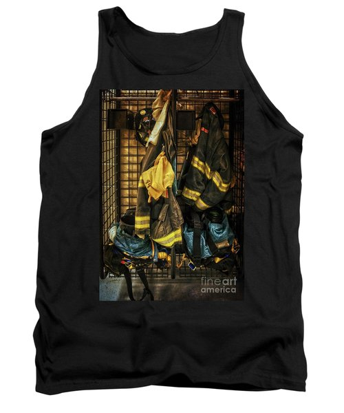 Tank Top featuring the photograph Within A Brotherhood You Never Walk Alone by Debra Fedchin