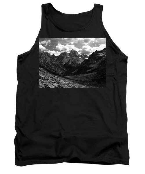 Tank Top featuring the photograph Within The North Fork Of Cascade Canyon by Raymond Salani III