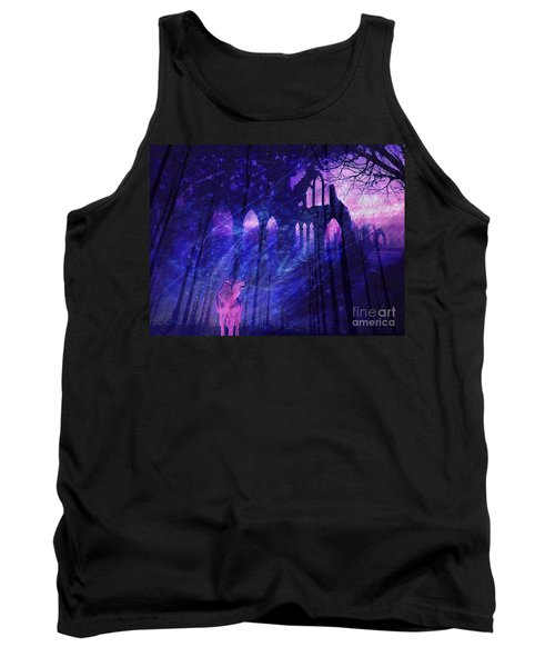 Wolf And Magic Tank Top
