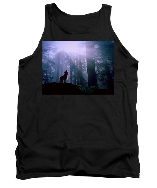 Wolf In The Woods Tank Top