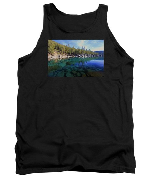 Tank Top featuring the photograph Wondrous Waters by Sean Sarsfield