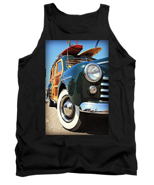 Woodie On The Wharf Tank Top