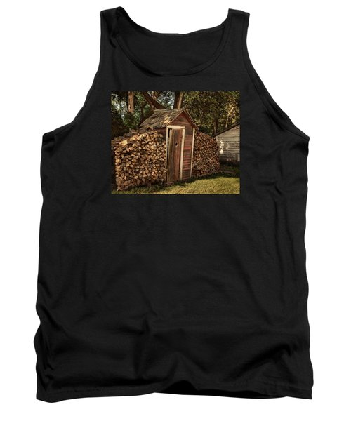 Woodpile And Shed Tank Top