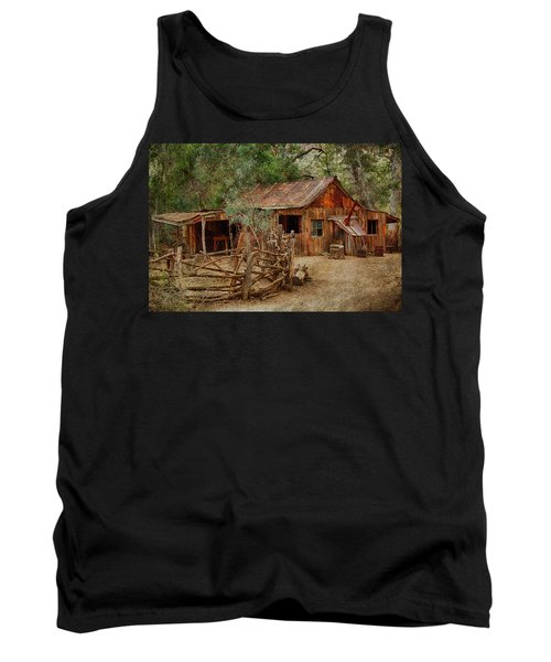 Wool Shed Tank Top by Fred Larson