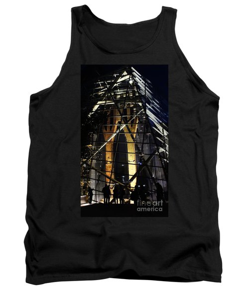 World Trade Center Museum At Night Tank Top