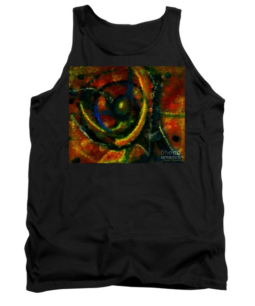 Tank Top featuring the painting Worship In Movement by Leanne Seymour