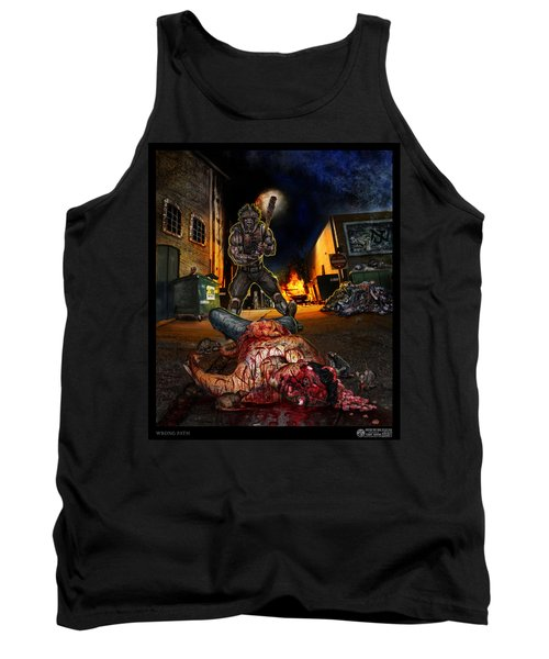 Wrong Turn Tank Top