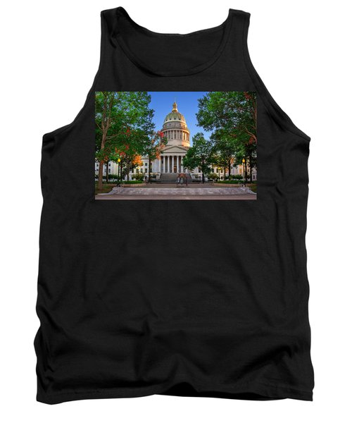 Wv Capitol As Dusk Tank Top