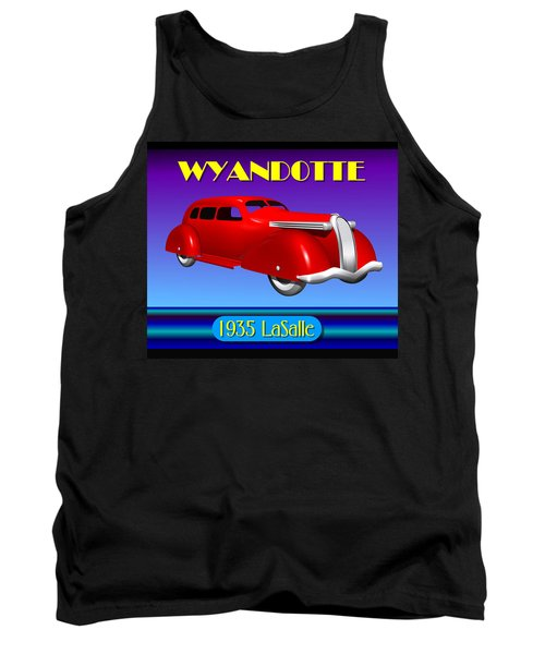 Wyandotte 1935 Lasalle Tank Top by Stuart Swartz