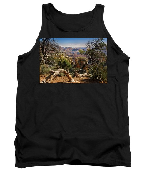 Tank Top featuring the photograph Yaki Point 4 The Grand Canyon by Bob and Nadine Johnston