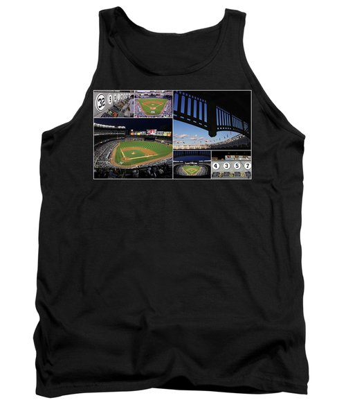Yankee Stadium Collage Tank Top