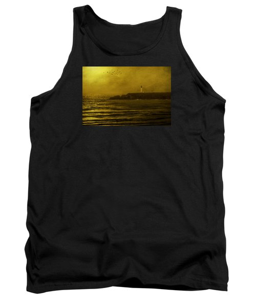 Yaquina Head Lighthouse Newport Oregon Tank Top