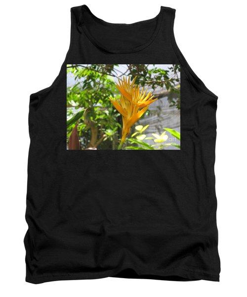 Yellow Bird Of Paradise Tank Top