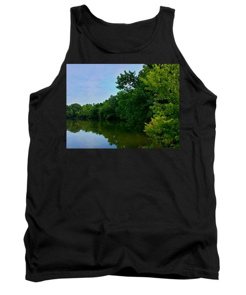 Tank Top featuring the photograph Yellow Creek by Chris Tarpening