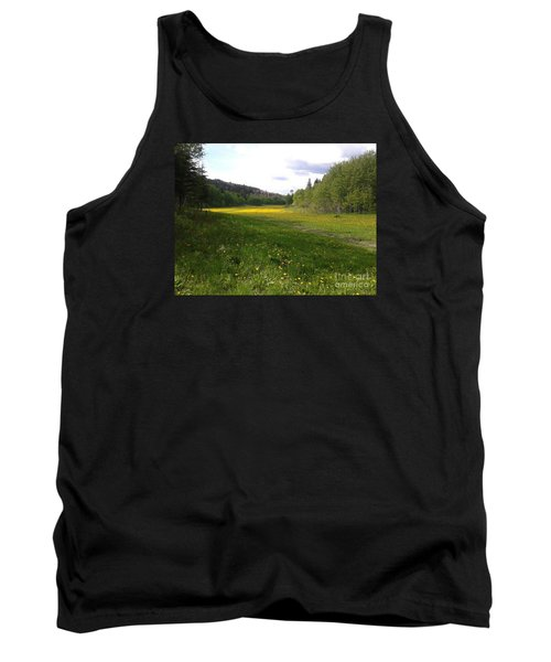 Yellow Meadow Tank Top