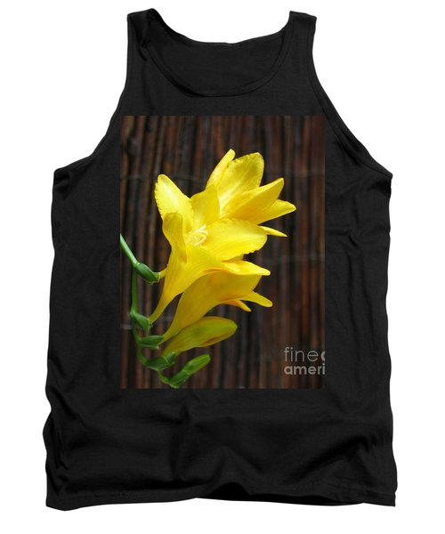 Yellow Petals Tank Top