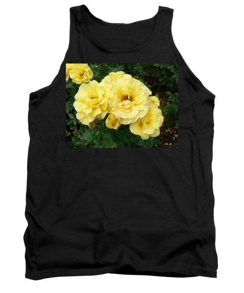 Tank Top featuring the photograph Yellow Rose Of Pa by Michael Porchik