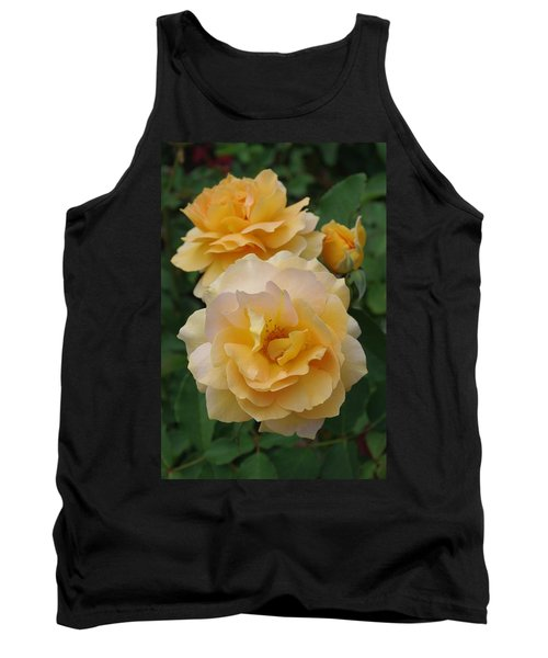 Tank Top featuring the photograph Yellow Roses by Marilyn Wilson