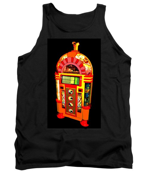 Yellow Submarine Poster Tank Top by Jean Goodwin Brooks