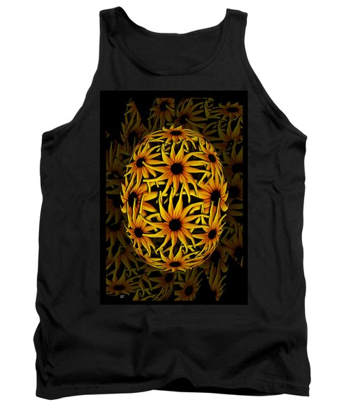 Yellow Sunflower Seed Tank Top