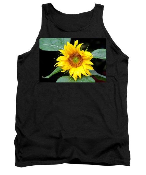 Yellow Sunflower Tank Top