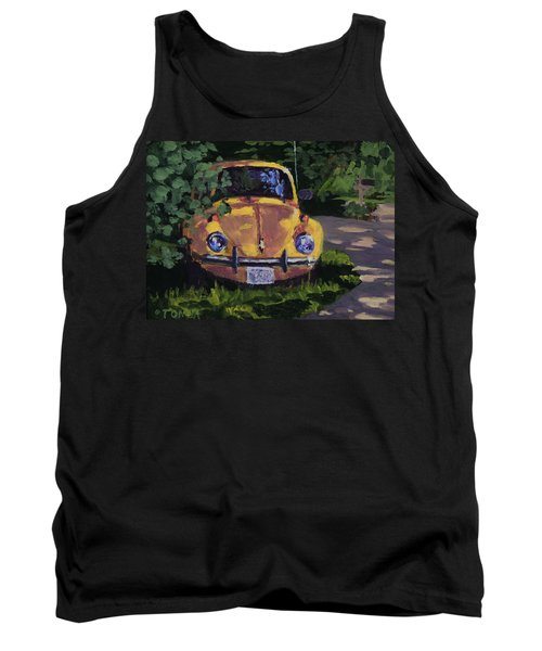 Yellow Vee Dub Tank Top