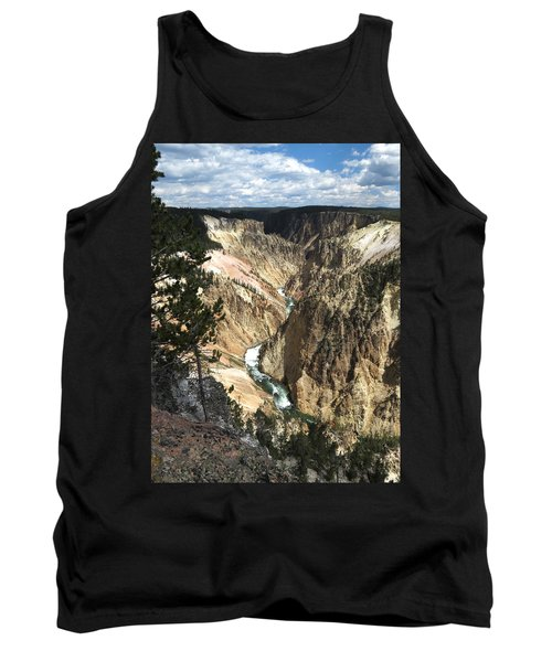 Yellowstone Canyon Tank Top by Laurel Powell