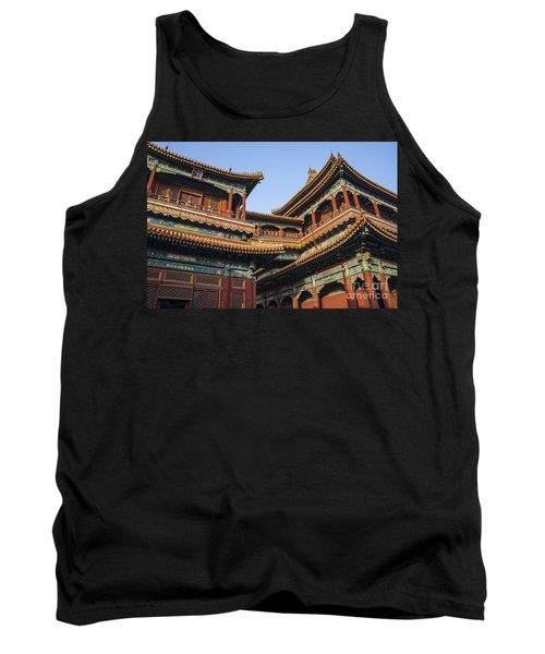 Yonghe Temple Aka Lama Temple In China Tank Top