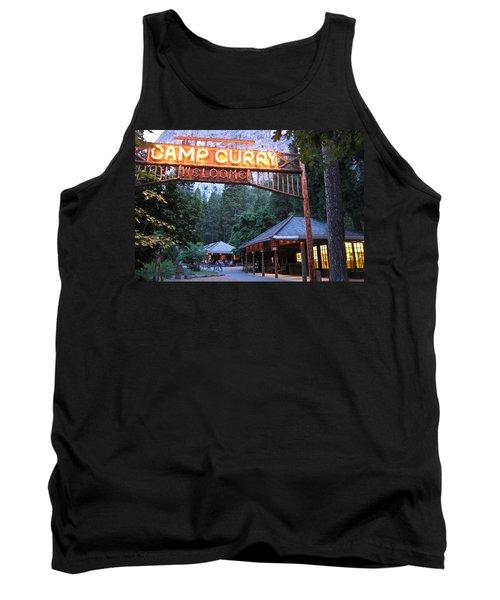 Yosemite Curry Village Tank Top