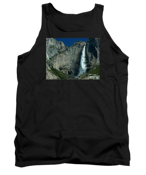 Tank Top featuring the photograph Yosemite Falls by Nick  Boren